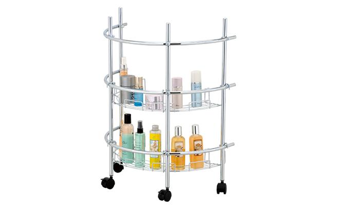 Pedestal Shower Caddy Sink, Bathroom Caddy On Wheels
