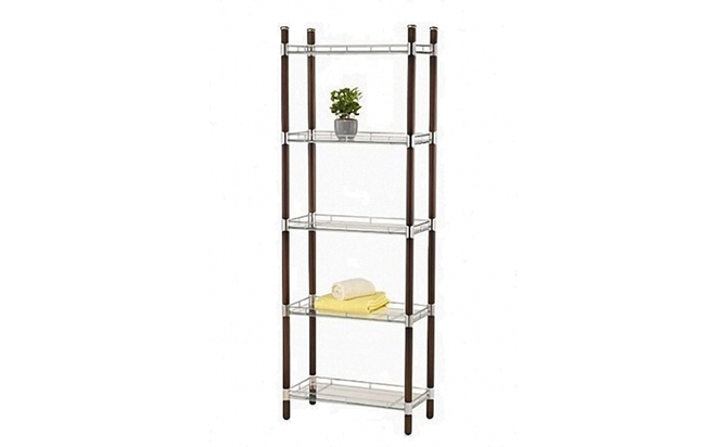 5-Tier Metal Shelf, Bathroom Frame, Metal Bathroom Frame - Product ...