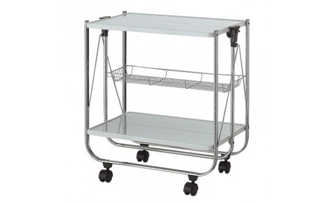 folding kitchen island cart | Versatile kitchen, Kitchen island ... | 412x670