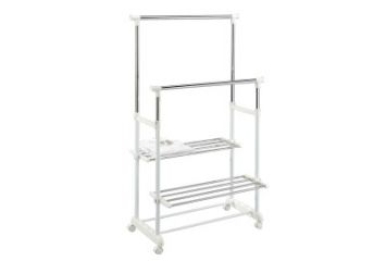 New Product for Clothes Drying Rack With Storage Shelf