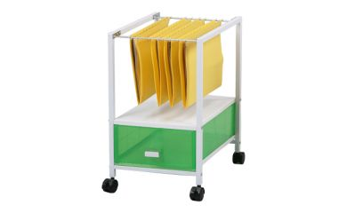 rolling office cart organizer product orbit 25634